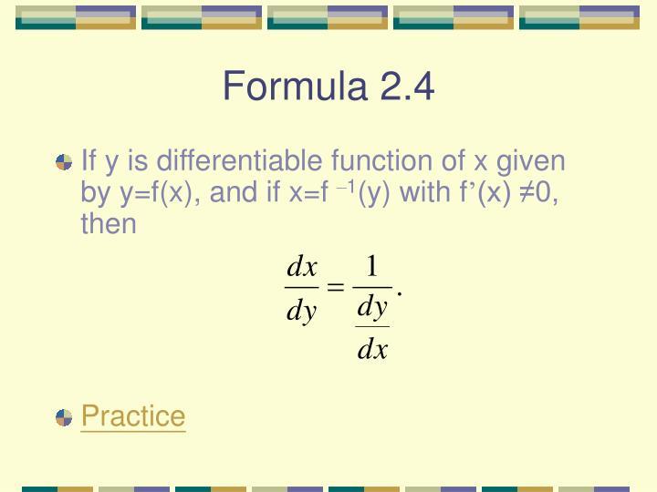 Formula 2.4