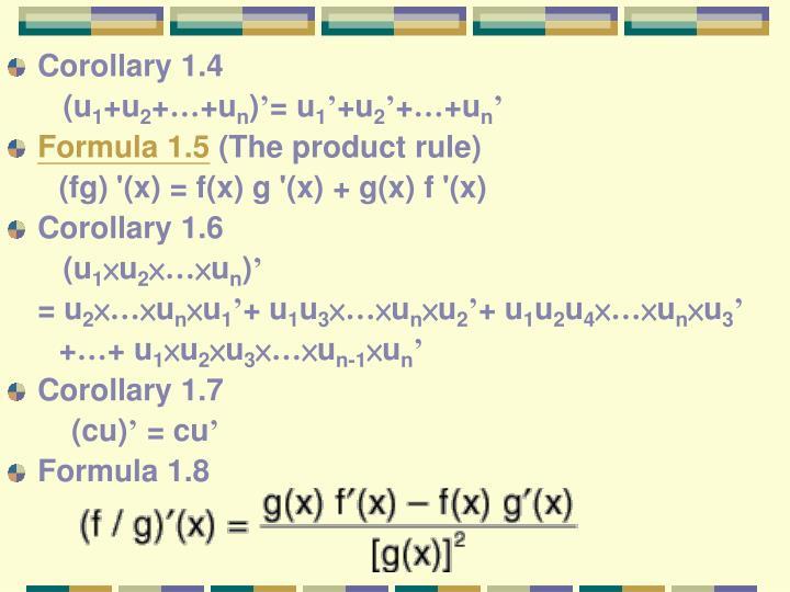 Corollary 1.4