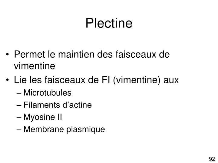 Plectine