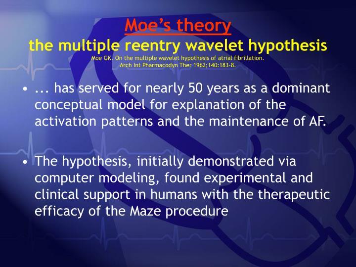 Moe's theory