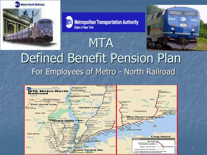 Mta defined benefit pension plan