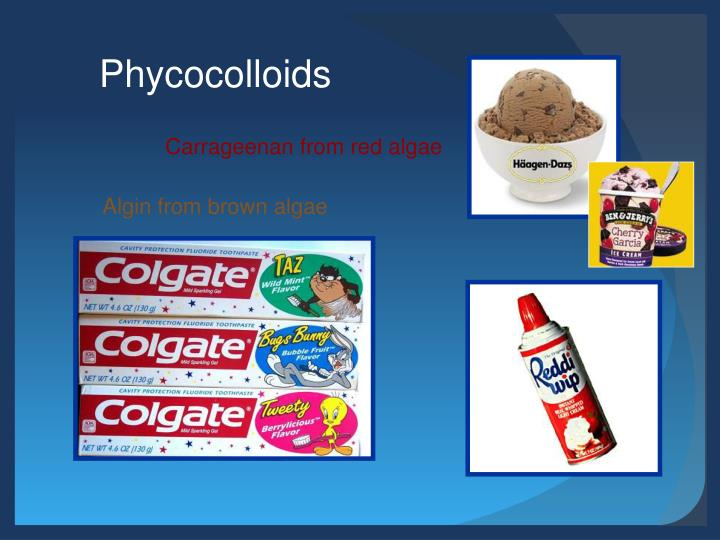 Phycocolloids