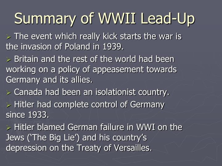 summary of wwi Get an answer for 'how did militarism help to cause wwi' and find homework help for other history questions at enotes.