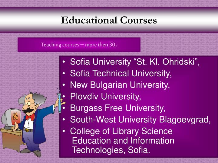 Educational Courses