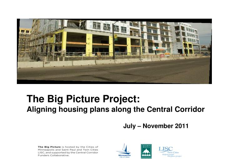 The Big Picture Project: