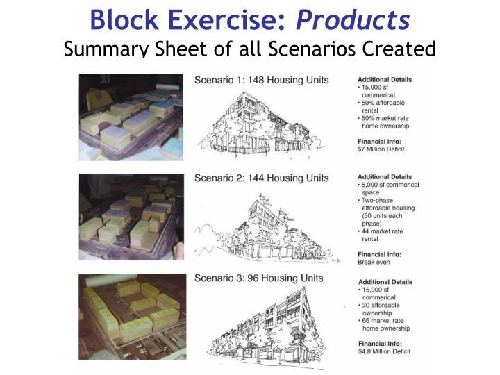 Block Exercise: