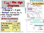 122 like sign dileptons