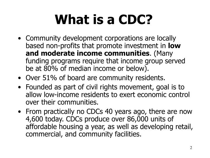 What is a cdc