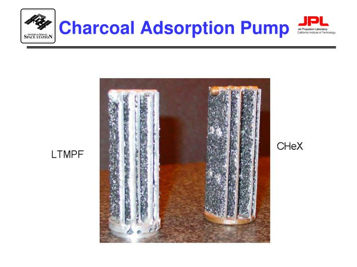 Charcoal Adsorption Pump