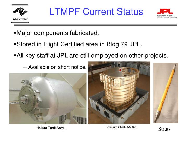 LTMPF Current Status