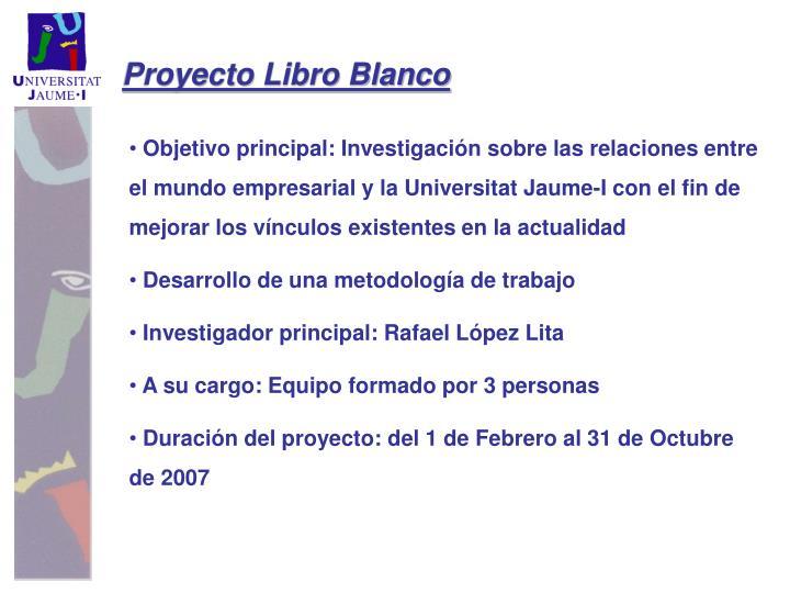 Proyecto Libro Blanco