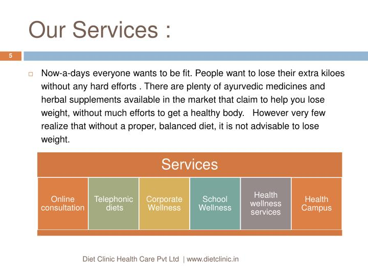 Our Services :