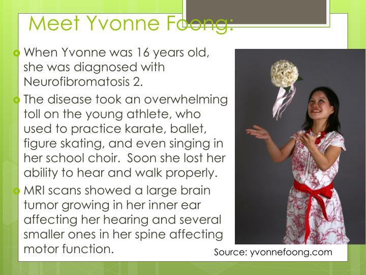 Meet Yvonne Foong:
