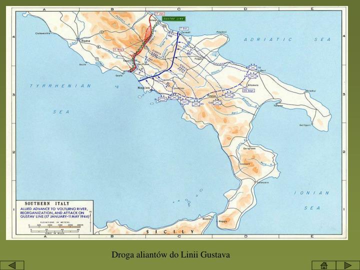 Droga aliantów do Linii Gustava