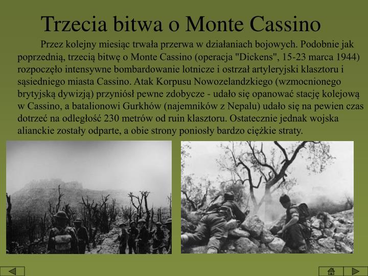 Trzecia bitwa o Monte Cassino