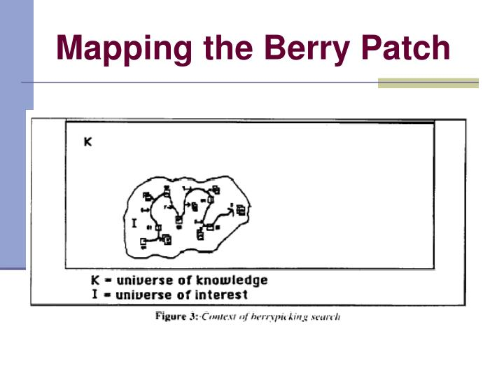 Mapping the Berry Patch
