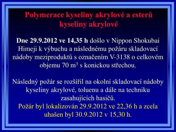 Dne 29.9.2012 ve 14,35 h