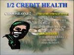 1 2 credit health