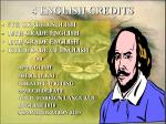 4 english credits
