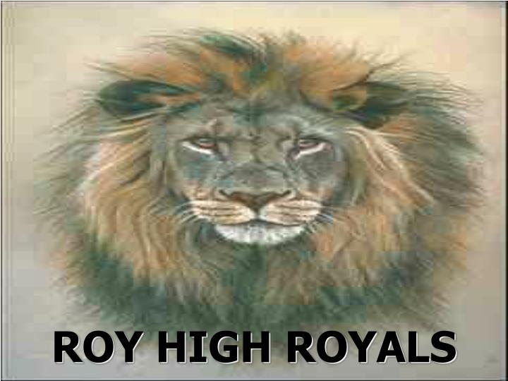 ROY HIGH ROYALS