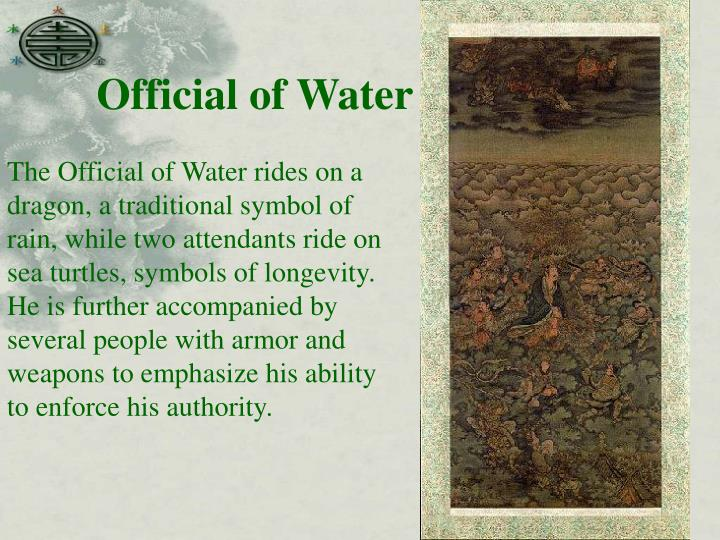 Official of Water