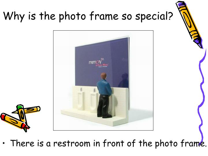 Why is the photo frame so special?