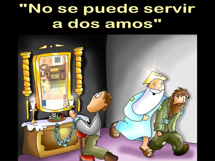 """""""No se puede servir"""