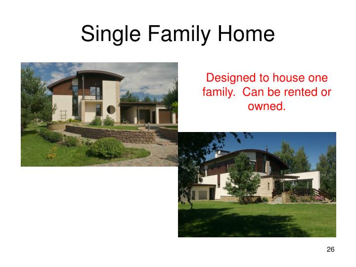 Single Family Home