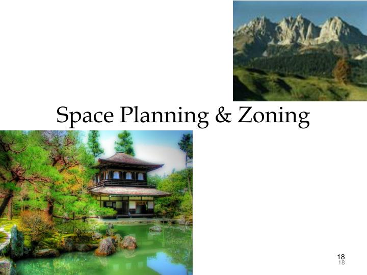 Space Planning & Zoning