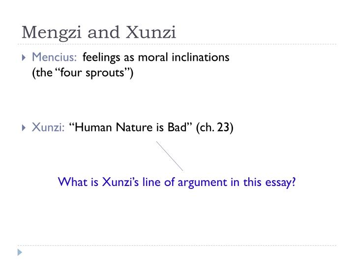 essay mengzi moral philosophy