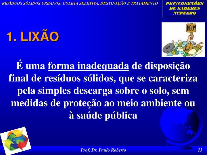 1. LIXÃO