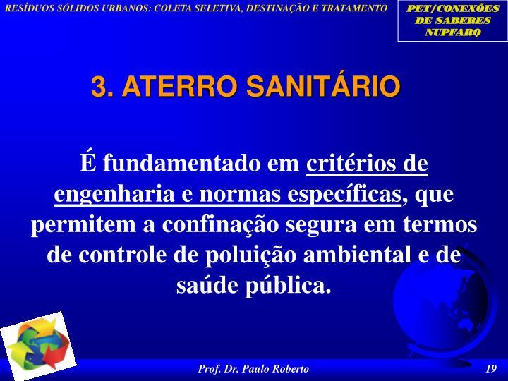 3. ATERRO SANITÁRIO