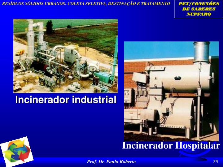 Incinerador industrial