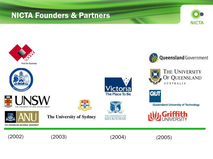 NICTA Founders & Partners