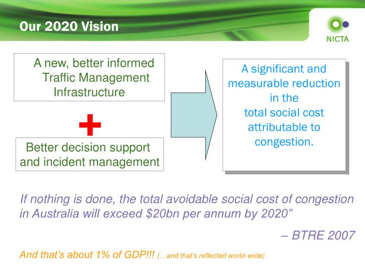 Our 2020 Vision