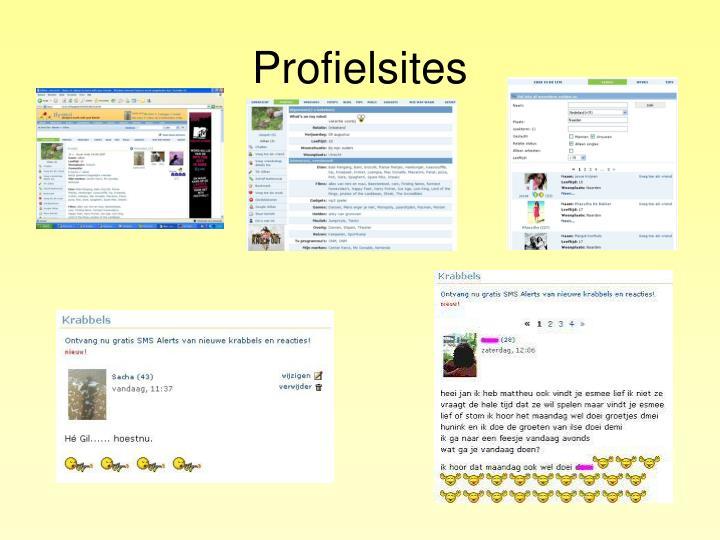 Profielsites