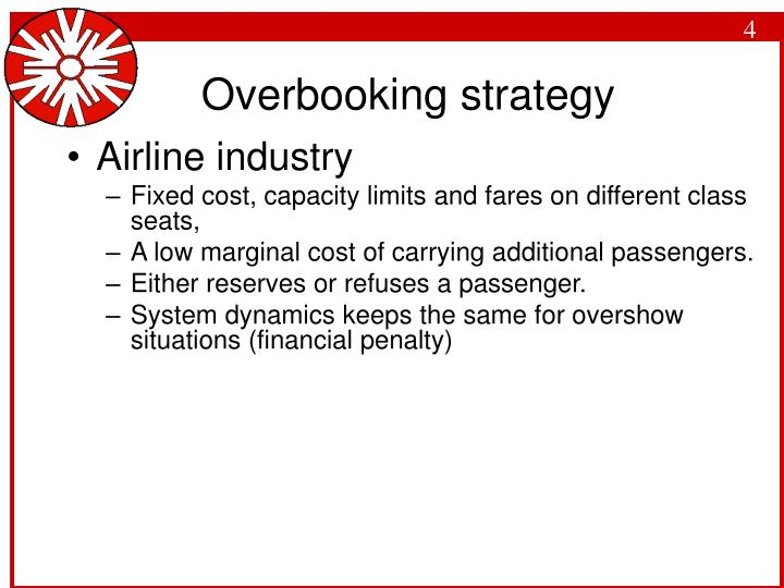 Overbooking strategy