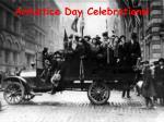 armistice day celebrations