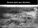 german dead near moislains