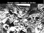 german soldier remains at verdun