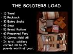 the soldiers load