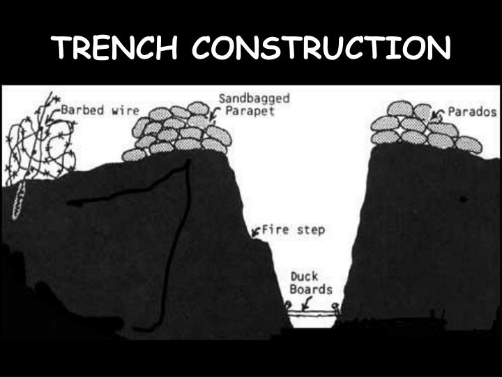 TRENCH CONSTRUCTION