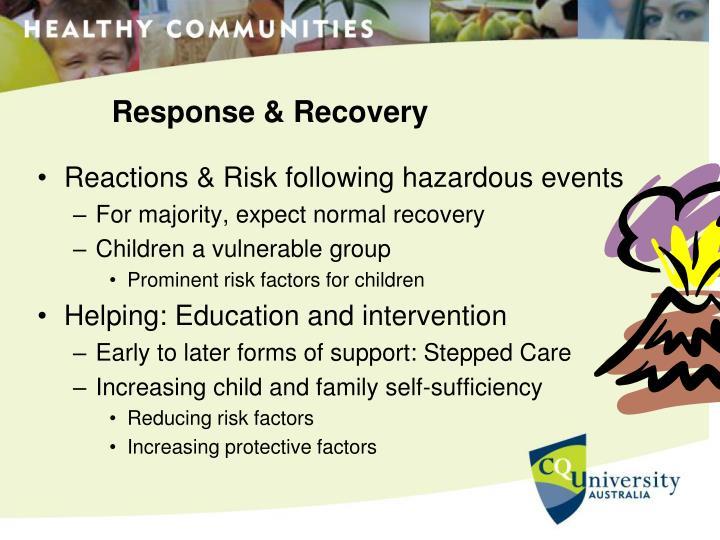 Response & Recovery