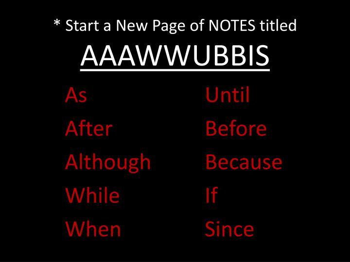 PPT - AAAWWUBBIS PowerPoint Presentation - ID:4199173