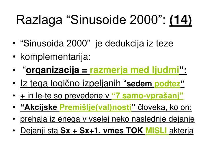 "Razlaga ""Sinusoide 2000"":"
