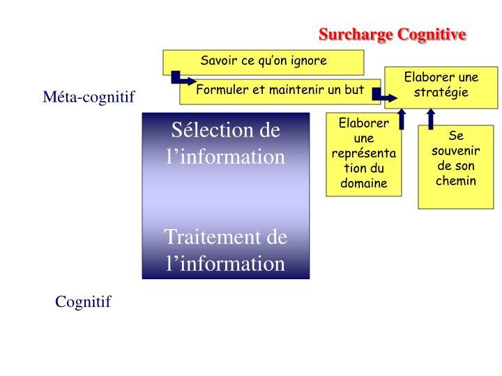 Surcharge Cognitive