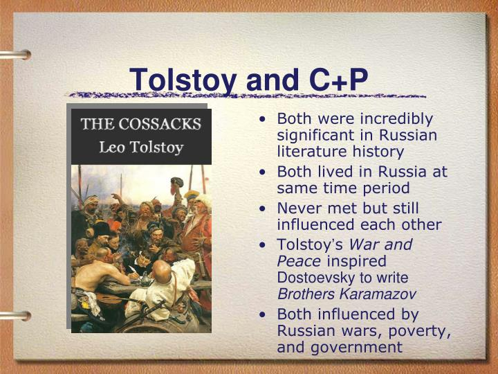 dostoevsky and tolstoy relationship goals