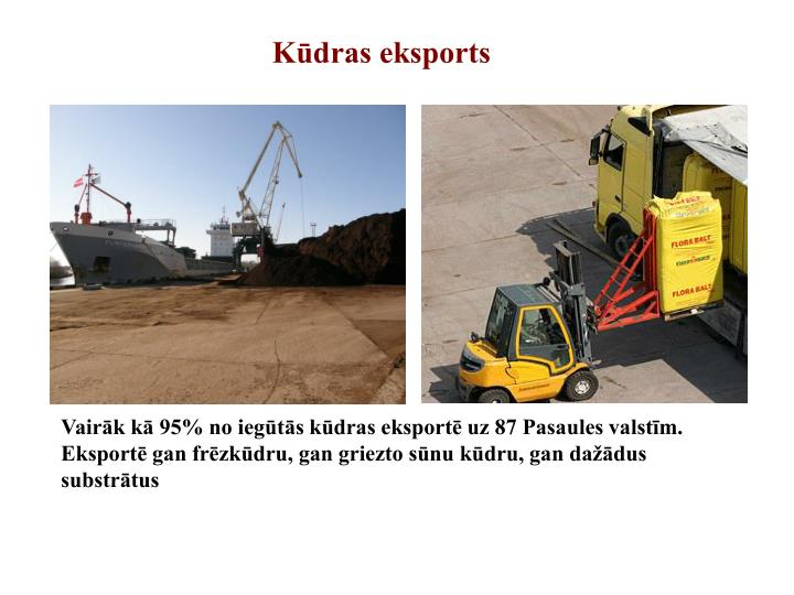 Kūdras eksports