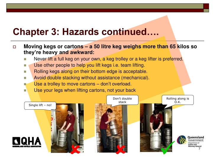 Chapter 3: Hazards continued….
