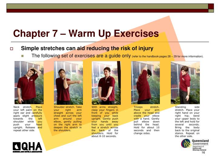 Chapter 7 – Warm Up Exercises